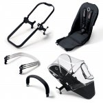 Bugaboo Donkey Duo Uitbreidingsset All Black Foam