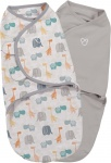 SwaddleMe Small 2-Pack Bohemian Jungle