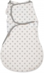 SwaddleMe Wrapsack Small Grey Star