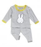 Nijntje/Miffy Pyjama Grey Stripe