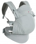 Babylonia Flexia Soft Structured Carrier Soft Grey