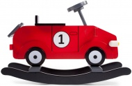 Childwood Schommel Auto Rood