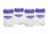 Lansinoh Bewaarflesjes Moedermelk 160ml (4 stuks)