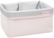 Cottonbaby Commodemandje Wafel Roze