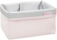 Cottonbaby Commodemandje Wafel Roze