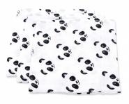 Fabs World Hydrofiel Monddoekje Panda (3 Stuks)