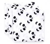 Fabs World Hydrofiel Washandje Panda (3 Stuks)