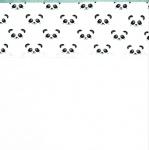 Fabs World Laken Panda Jade Dreams 75 x 100 cm