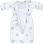 Puckababy Bag Newborn Teddy White 0-6 mnd