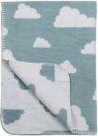Meyco Deken Little Clouds Stone Green 75 x 100 cm