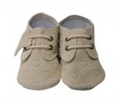 XQ Little Shoes Schoentje Hearts Antique