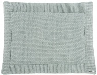 Meyco Boxkleed Silverline Relief Sage Green 80 x 100 cm