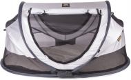 Deryan Travel-Cot Peuter Luxe Silver