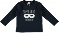 Babylook T-Shirt Hero Dark Blue