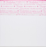 Briljant Laken Indy Star New Pink  75 x 100 cm