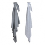 Little Dutch Swaddle Grey Melange 70x70 2st.