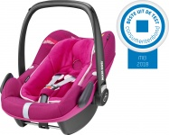 Maxi-Cosi Pebble Plus Frequency Pink 2018