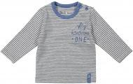 Dirkje T-Shirt Stripe Grey/Blue