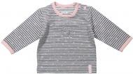 Dirkje T-Shirt Stripe Grey/Pink
