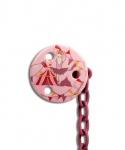 Suavinex Fopspeenketting Pink Ballerina
