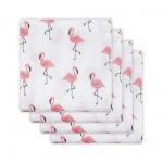Hydrofiele Luiers (4 stuks)  Flamingo