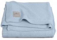 Jollein Deken Zomer Soft Knit Soft Blue 75 x 100 cm