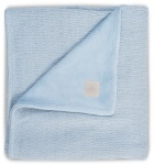 Jollein Deken Winter Soft Knit Soft Blue 100 x 150 cm