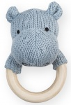Jollein Rammelaar Soft Knit Hippo Soft Blue