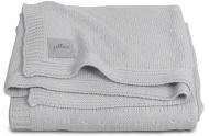 Jollein Deken Zomer Soft Knit Light Grey 75 x 100 cm