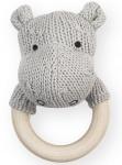 Rammelaar Soft Knit Hippo Light Grey