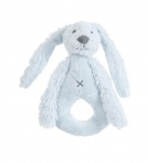 Happy Horse Rabbit Richie Rattle Blue 18 cm