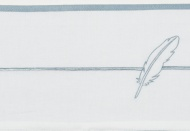 Meyco Laken Feathers Jade  75 x 100 cm