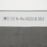 Meyco Laken Moon Grijs  75 x 100 cm
