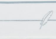 Meyco Laken Feathers Jade  100 x 150 cm