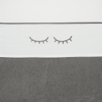 Meyco Laken Sleepy Eyes Grijs  100 x 150 cm