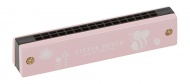 Little Dutch Houten Mondharmonica Roze