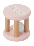 Little Dutch Houten Rammelaar Roller Roze