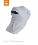 Stokke® Stroller Storm Cover Grey Melange