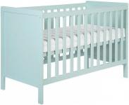 Europe Baby Ledikant Europe Baby Ralph Mint Groen 60-120