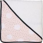Petit Juul Badcape Pink Dot/ Cream Teddy