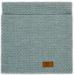 Baby's Only Ledikantdeken Robust Uni Stonegreen 100 x 135 cm