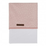 Little Dutch Laken Sprinkles Pink 70 x 100 cm