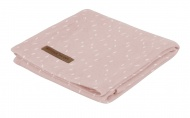Little Dutch Swaddle Sprinkles Pink  120 x 120