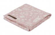Little Dutch Swaddle Adventure Pink  120 x 120