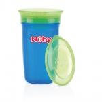 Nûby Drinkbeker 360º Uni Blauw 300ml