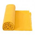Cottonbaby Multidoek Soft XL Okergeel