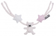 Baby's Only Wagenspanner Roze/ Wit