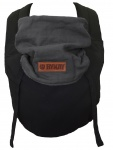 Bykay Click Carrier Reversible Black/ Mouse Grey