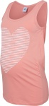 Mamalicious Tanktop Heart Stripe Strawberry Ice