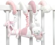 Tiamo Nijntje Safari Pink Boxspiraal